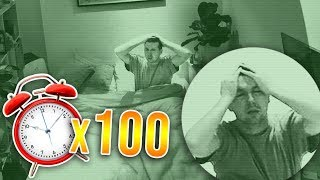 Download 100 ALARM CLOCKS PRANK ON CALLUX (HE DIDN'T SLEEP) Video