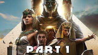 Download ASSASSIN'S CREED ORIGINS NEW GAMEPLAY WALKTHROUGH PART 1 - Meketre (AC Origins) Video