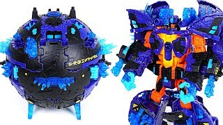 Download Transformers Mission to Cybertron Converting Planet with Optimus Prime, Bumblebee - DuDuPopTOY Video