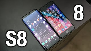 Download iPhone 8 vs Samsung Galaxy S8: Sorry Apple.. Video