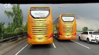 Download Mr Gaplex ngejar bus tingkat TJ | Bagi oleh2 Apel Malang ke driver ibu2 Video