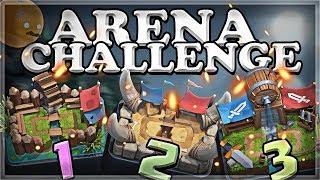 Download Arena Challenge 1-2-3 | Clash Royale | Part 1 🍊 Video