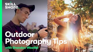 Download Learn Outdoor Photography Tips on a Shoot with Photographer Brandon Woelfel Video