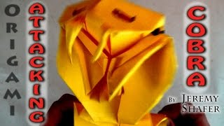 Download Origami Attacking Cobra Video
