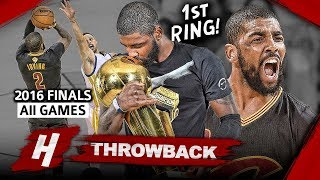 Download Kyrie Irving 1st Championship, Full Series Highlights vs Warriors 2016 Finals - EPIC CLUTCH Shot! Video