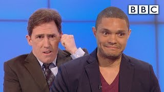 Download Did Trevor Noah prank call as Nelson Mandela? - Would I Lie to You?: Series 9 Episode 6 - BBC One Video