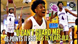 Download AMERICA WE HAVE A PROBLEM! 15 Y/O Jalen Green SPAZZES OUT w/ 46 POINTS Against TOUGH Cali Team! Video