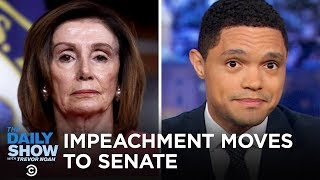 Download Nancy Pelosi's Impeachment Procession & Lev Parnas's Paper Trail | The Daily Show Video