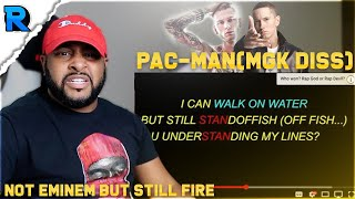 Download PAC-MAN (MGK DISS) | FAKE EMINEM RESPONSE | REACTION Video