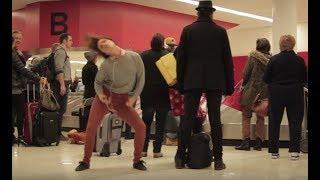 Download Dance Like Nobody's Watching: Airport   HelloGiggles Video