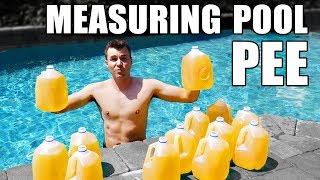 Download How to measure HOW MUCH PEE IS IN YOUR POOL Video