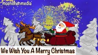 Download We wish you a Merry Christmas - Weihnachtslieder | Christmas Songs | xmas - Kinderlieder deutsch Video