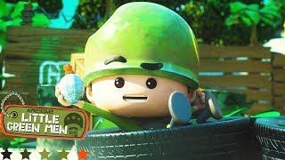 Download Awesome Little Green Men   A Few Dumb Men   Episode 2 Compilation   Cartoons for Children Video