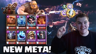 Download NEW META DECK! Giant Double Prince Beatdown Deck LIVE Grand Challenge Gameplay - Clash Royale Video