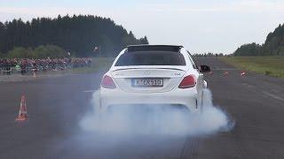 Download 2016 Mercedes-AMG C63 S Edition 1 BURNOUT!! Video