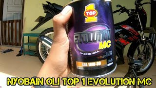 Download Nyobain oli motor TOP ONE Evolution MC SAE 10W30, Tarikan mulus ! Video