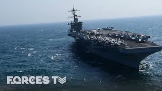 Download When An Aircraft Carrier Goes To War | Forces TV Video