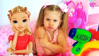 Download Diana and Funny Stories With Toys - Compilation video Video