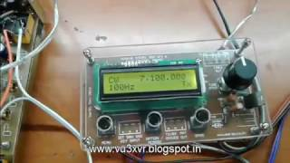 Simple vfo+bfo with s-meter using si5351 and arduino/avr [prototype