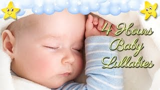 Download 4 Hours Soothing Baby Bedtime Music ♥♥♥ Brahms Lullaby ♫♫♫ Mozart Twinkle Hushaby Video