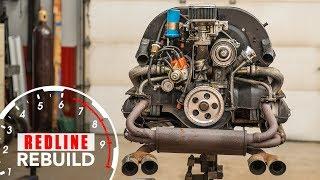 Download Volkswagen Beetle Engine Rebuild Time-Lapse | Redline Rebuild - S1E7 Video