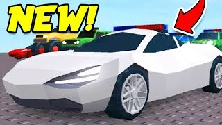 Download Roblox Jailbreak NEW WINTER UPDATE LEAK!! TURN ANY CAR INTO A POLICE CAR! Video