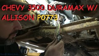 Download Chevy Duramax w/ Allison Automatic - Shifting Trouble P0773 Video