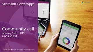 Download PowerApps community call-January 2019 Video