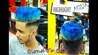 Download Blond To Bubblegum Blue   Hair Color and Style   Starix /A/ Video