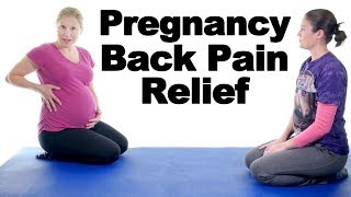 Download 5 Best Pregnancy Lower Back Pain Relief Exercises - Ask Doctor Jo Video
