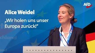 Download ❝Die EU ist Irrsinn!❞ | Alice Weidel in Pforzheim Video
