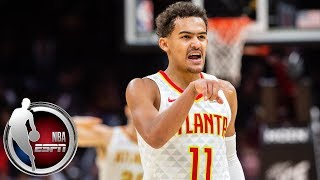 Download Trae Young goes off for 35 points and 11 assists in Hawks' win vs. Cavaliers | NBA Highlights Video