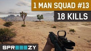 Download PUBG 1 Man Squad Game #13 | 18 Kills | The Sandwich Video