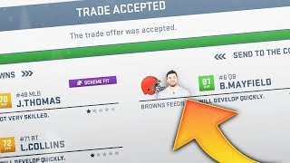 Download 10 Easiest NFL Rookies To Trade For in Madden 19 Video