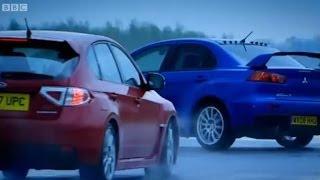 Download Mitsubishi Evo vs. Subaru Impreza - Top Gear - BBC Video