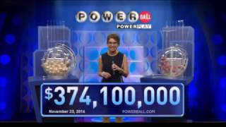 Download November 23, 2016, 374.1 Million Jackpot United States Powerball results and winning numbers Video