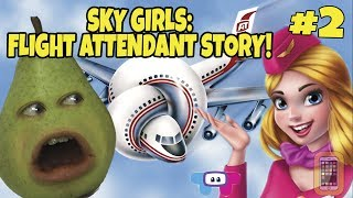 Download Pear FORCED to Play - SKY GIRLS: Flight Attendant Story #2 Video