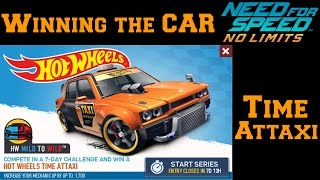 Download NFS No Limits | Hot Wheels Special Event - Time Attaxi | Day 7 - Winning the car ! Video