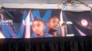 Download Justin Gatlin, Trayvon Bromell and Marvin Bracy Talk Usain Bolt at Olympic Trials Video