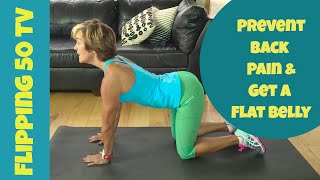 Download Prevent Back Pain (Get A Flat Belly and Look Thinner) | Flipping 50 TV 15 Video