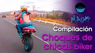 Download Compilación de Choques de Chicas Biker Video