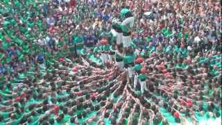 Download Castellers de Vilafranca - td8 Concurs 2012 - David Ferrer Video