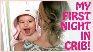 Download JULIET'S FIRST NIGHT IN THE CRIB! Video
