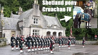 Download Royal Scottish Regiment ″showing off″ with pony Cruachan IV at Balmoral Castle Video