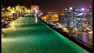 Download A piscina mais famosa do mundo - MARINA BAY SANDS - Cingapura Video