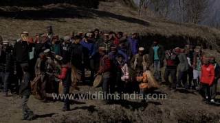 Download Procession of Faguli Mela reaches Latoda temple in Himachal Video