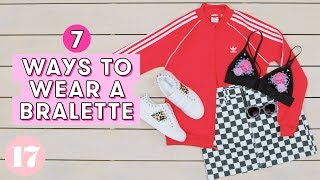 Download 7 Ways To Wear a Bralette as a Shirt | Style Lab Video