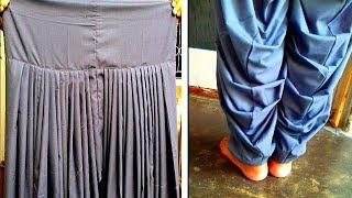 Download Patiala salwar cutting and stitching in hindi Video