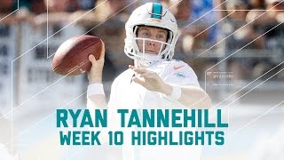 Download Ryan Tannehill Leads Dolphins to Victory | Dolphins vs. Chargers | NFL Week 10 Player Highlights Video