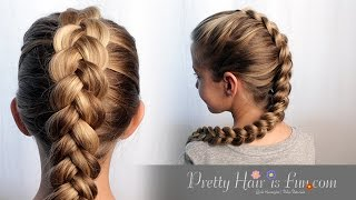 Download HOW TO DUTCH BRAID HAIR TUTORIAL!! 🙌🙌❤ Video